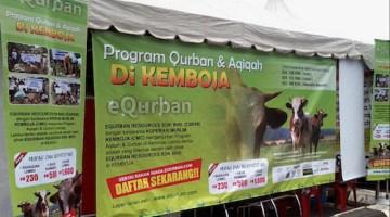 Tempah Kambing Qurban Online Dengan eQurban