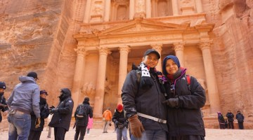 Kembara Ke Red Rose City dan The Treasury Petra Jordan Di Musim Sejuk