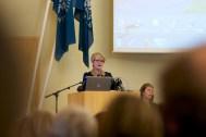 Marie Fortune í Háskóla Íslands