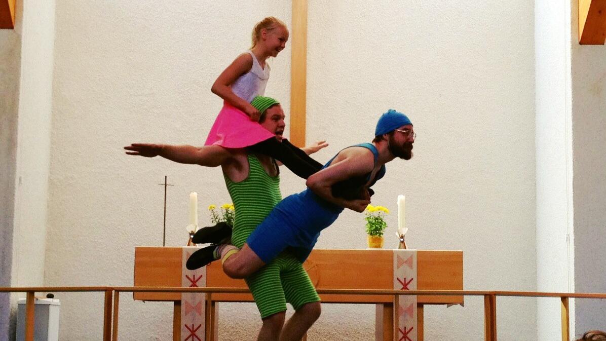 Sirkus Íslands i Vídalínskirkju