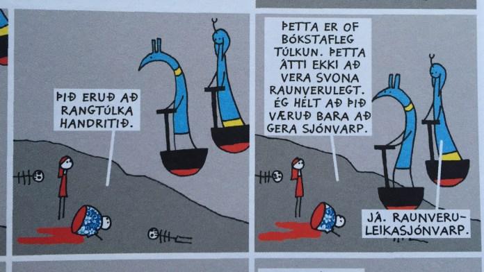 Opinberun eftir Hugleik Dagsson