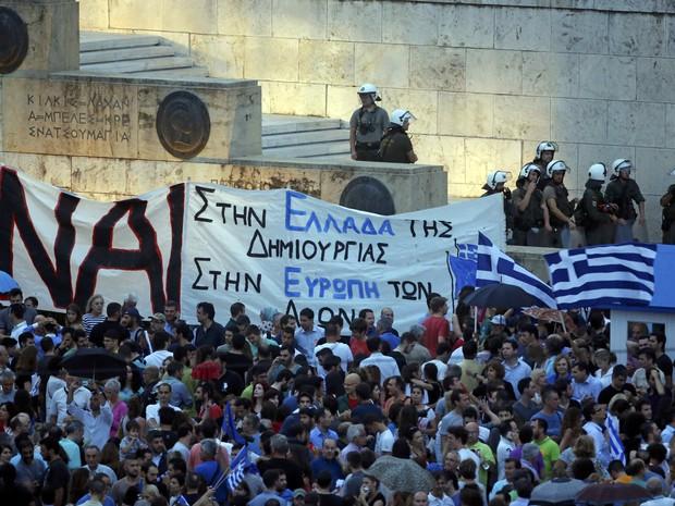A história não acabou, vide a rebelião grega