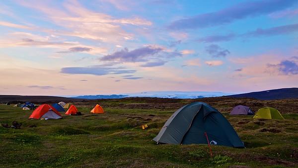 Campingplatz Hveravellir, Island