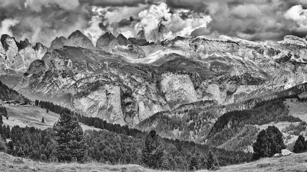 Grödnerjoch - Dolomiten, Südtirol, Italien