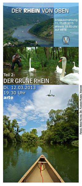 Sendehinweis 'Der Rhein von oben'