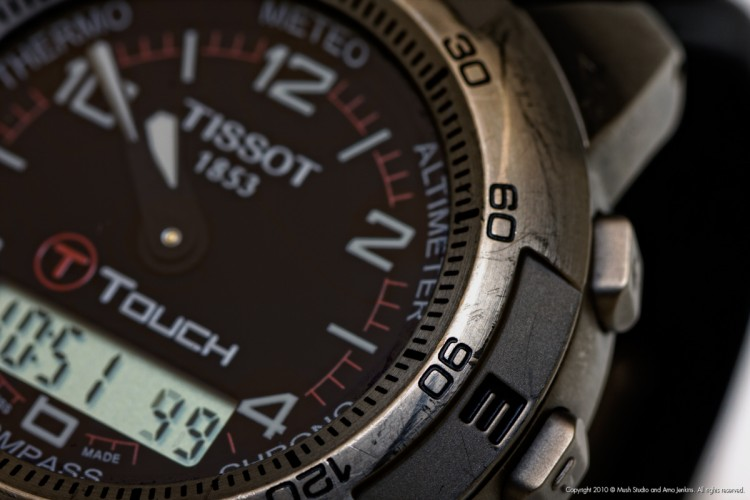 Tissot watch - Close up