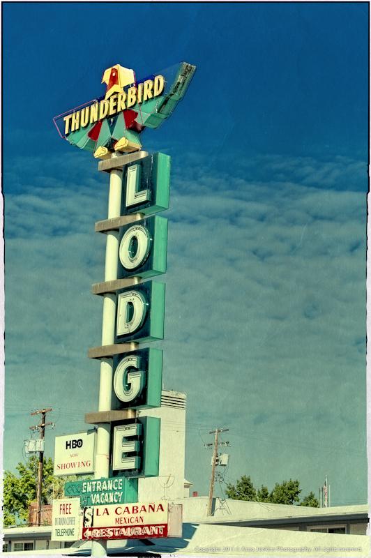 Thunderbird Lodge Postcard