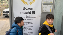 <h5>Junioren des FC Aesch im Gruppentraining</h5><p>Gruppentraining im Arnold Boxfit 4133</p>