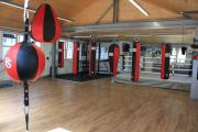 <h5>Fitness- & Kraft-Bereich und Boxring auf einer Ebene</h5><p></p>