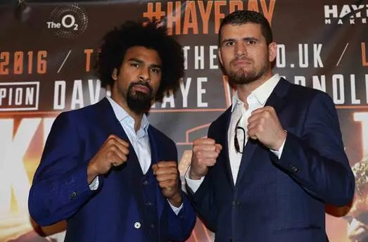 Breaking down David Haye – Arnold Gjergjaj
