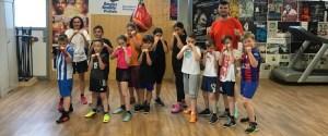 Fitnesstraining für Kinder von 9-12 Jahren bei Arnold BoxFit dem Boxgym von Arnold the Cobra Gjergjaj in Pratteln