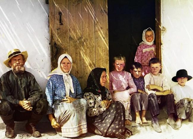 Rosyjscy osadnicy na wschód od Morza Kaspijskiego