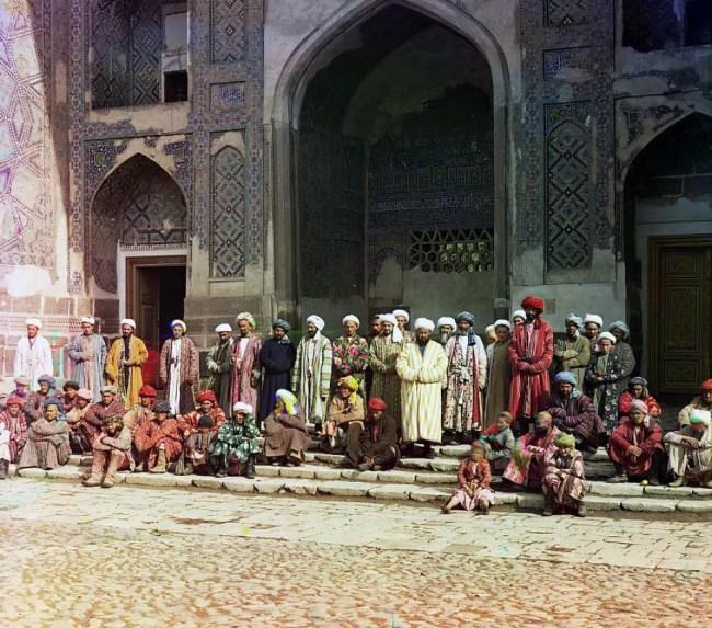 Medresa Szir-Dar w Samarkandzie z XVII w.