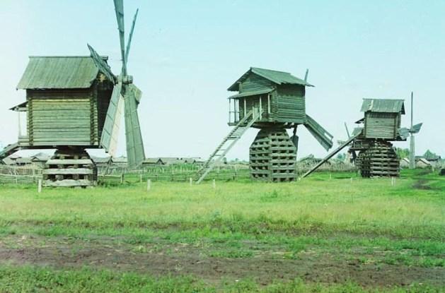 Wiatraki w pobliżu Tobolska