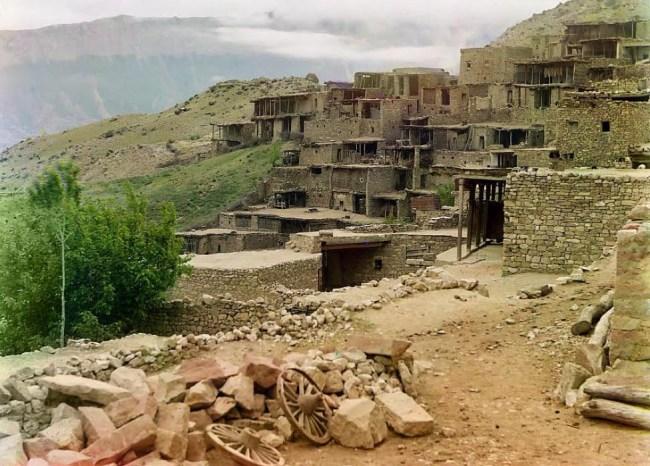 Wieś rodzinna imama Szamila