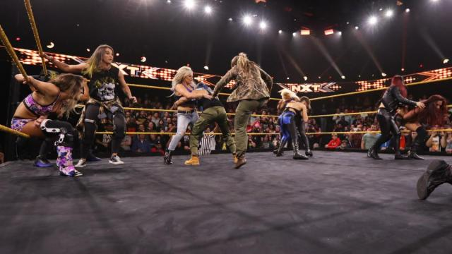 WarGames oppoents join forces to stem the main roster invasion