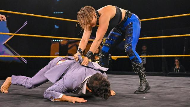 Rhea Ripley gets her hands on Robert Stone