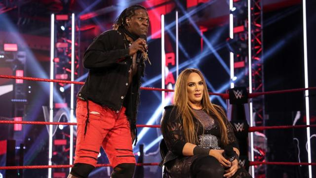 Nia Jax and R-Truth