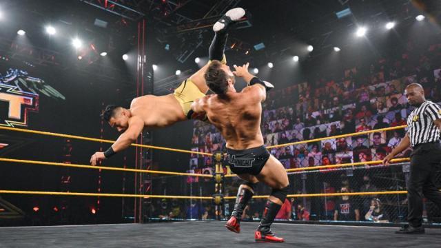 Jake Atlas takes down LA Knight