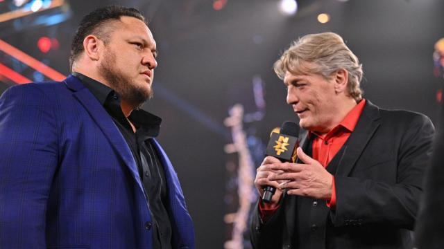 Samoa Joe and William Regal