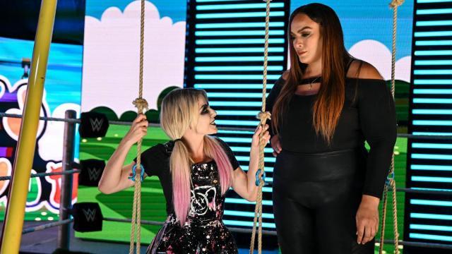 Alexa Bliss and Nia Jax