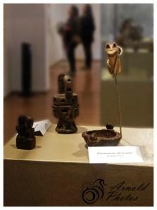 Ornamento de hueso - Estilo Inca
