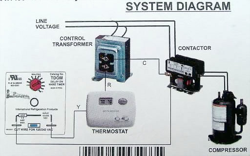 trane heat pump parts diagram ford bronco starter solenoid wiring tdom time delay on make relay - arnold's service company, inc
