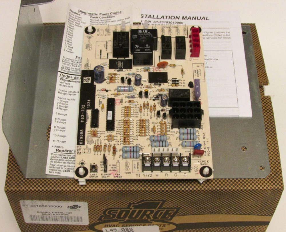 medium resolution of york furnace control board part s1 33103010000
