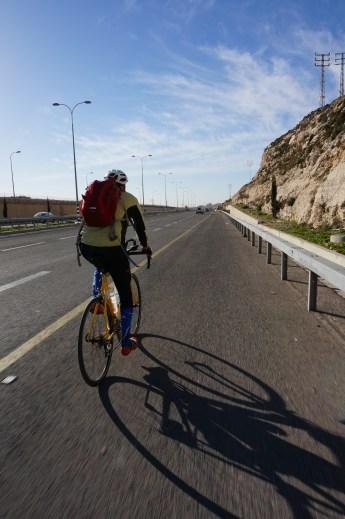 Auf dem Weg zum Toten Meer