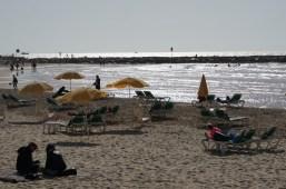 Strandleben in Tel Aviv
