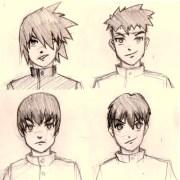 manga anime hair arnold zwicky's