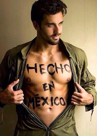 Handsome mexican man