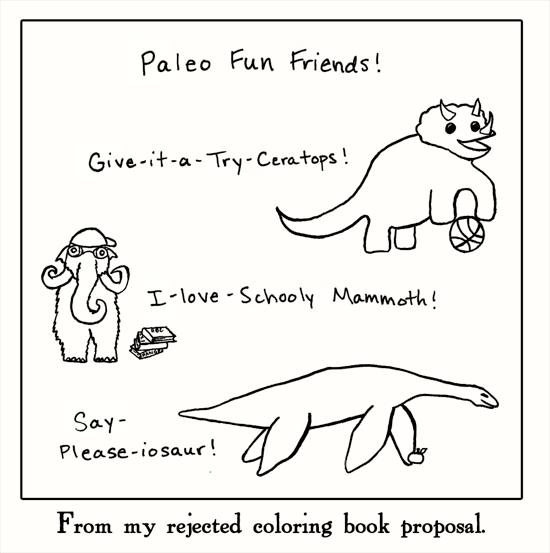 Dinosaur puns | Arnold Zwicky's Blog