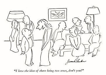 Thurber's cartoon