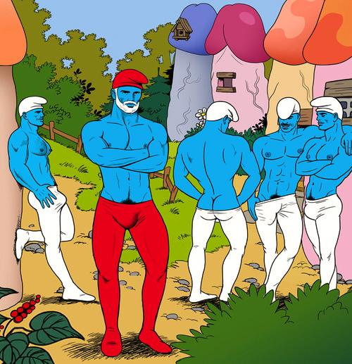 de Smurfen Cartoon Porn