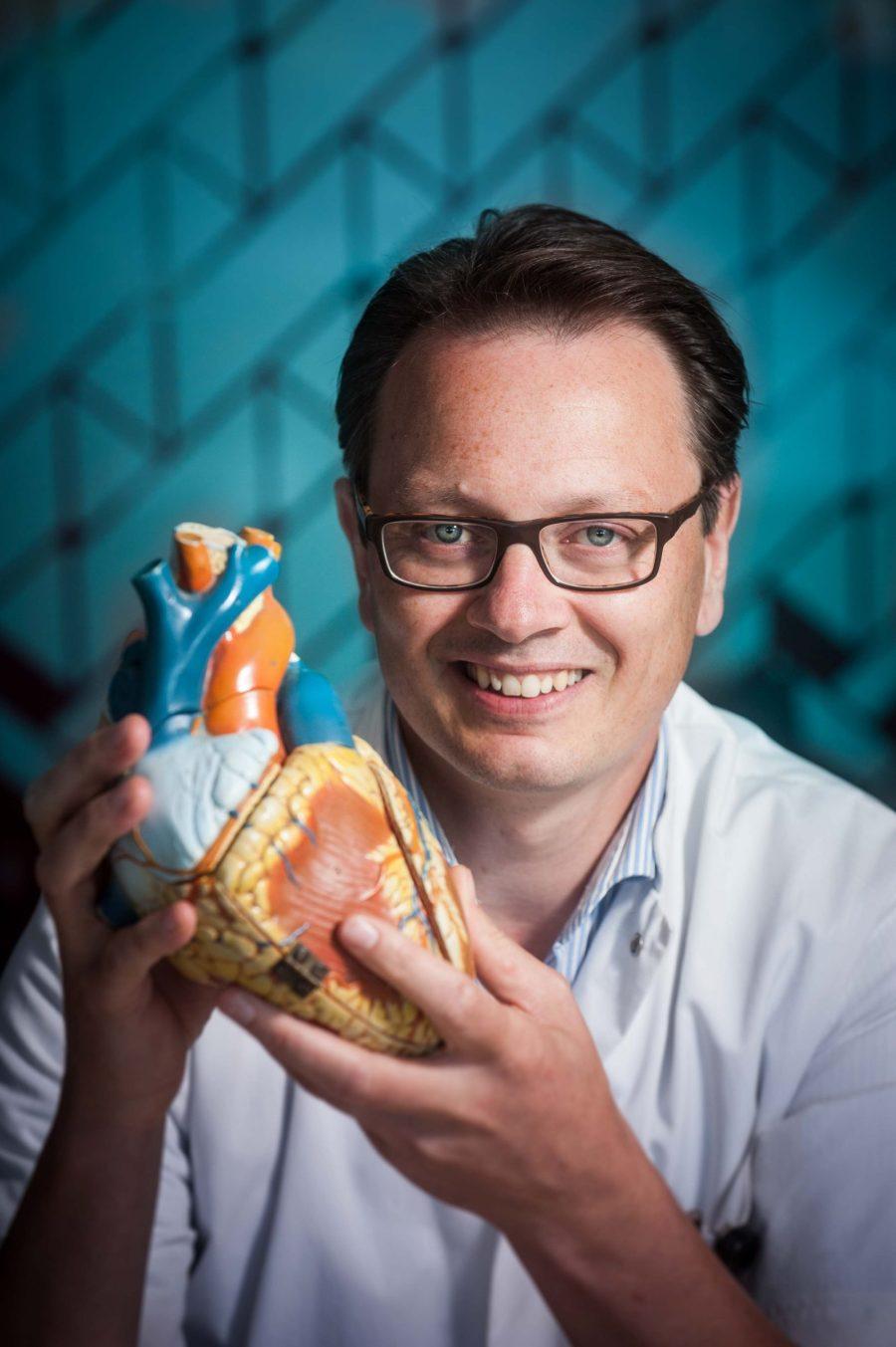Cardioloog Ivo van der Bilt van het HagaZiekenhuis