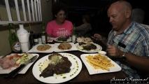 Diner bij Toko Williwood met Nicole & Roel