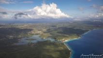 Curaçao vanuit de lucht - Sint Marthabaai