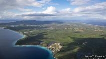 Curaçao vanuit de lucht - Westkant van Curaçao