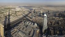 Uitzicht vanaf Burj Kalifa