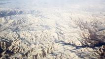 Bergen in het zuid-oosten van Turkije