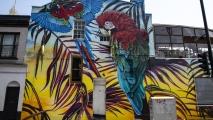 Muurtekening in Camden