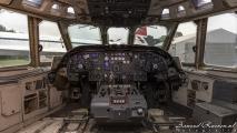 Cockpit VC-10 (G-ARVM)
