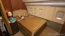 Bed van de Sultan van Oman - VC-10 (A4O-AB)
