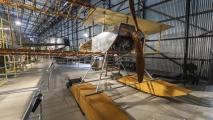 Houten watervliegtuig
