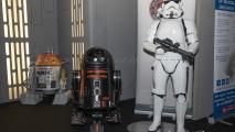 Comic Con - Star Wars droids & Stormtrooper