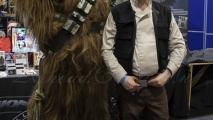 Comic Con - Star Wars (Chewbacca & Han Solo)