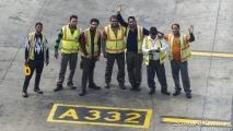 New Delhi platform employees