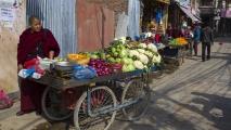 Groenten verkoop op straat