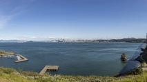 Uitzicht bij Golden Gate Bridge